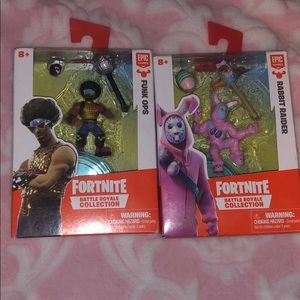 2 Fortnite Battle Royal Action Figures